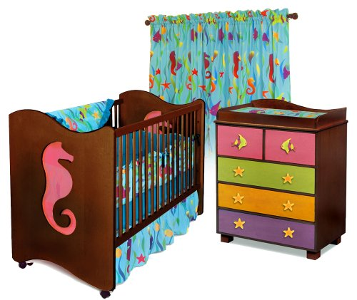 Room Magic Nursery Set, Tropical Seas by Room Magic