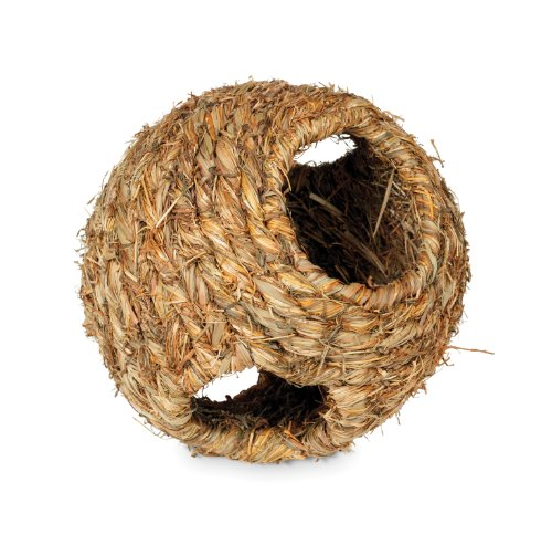 Prevue Hendryx 1094 Nature's Hideaway Grass Ball Toy, Medium by Prevue Hendryx