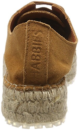 Shabbies Amsterdam Ladies Shabbies Espandrilles Lace Espadrilles Brown (cognac)