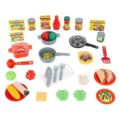 Just Like Home Old El Paso Play Food Dinner Set for - Paso Kids El
