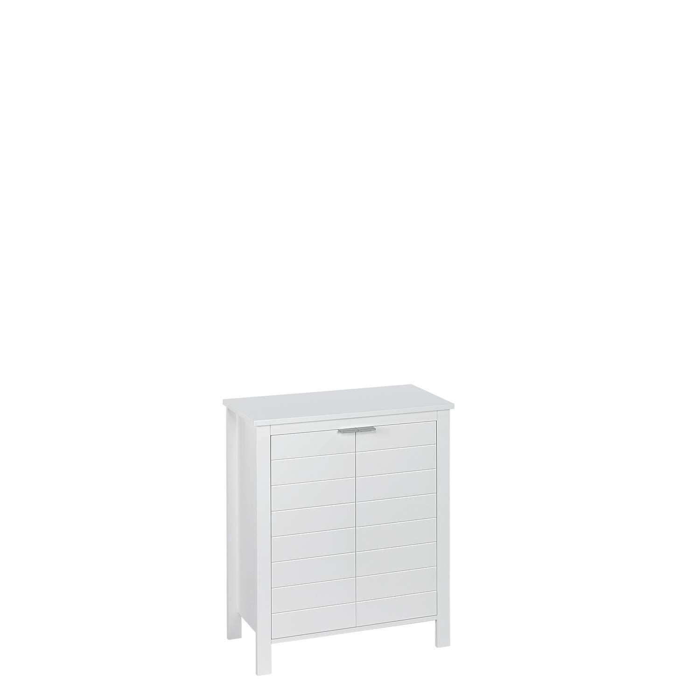 RiverRidge Home 06-110 Madison Collection 2-Door White Floor Cabinet