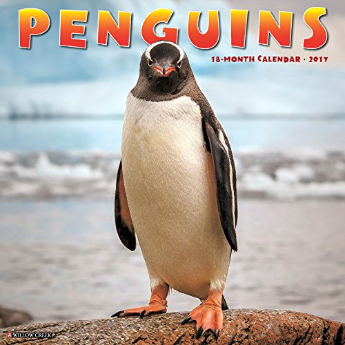 Penguins 2017 Wall Calendar
