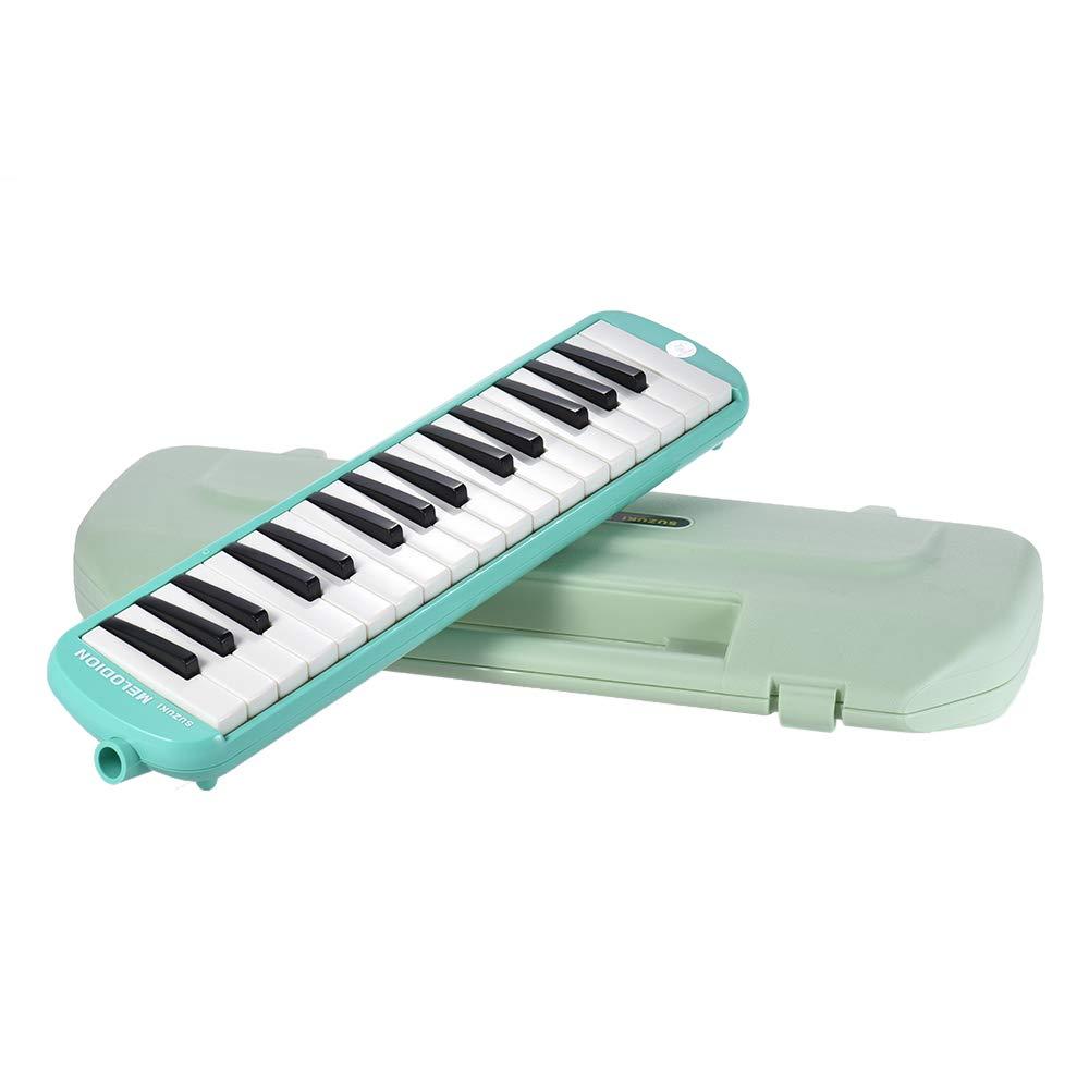 Festnight Melodica Instrument, 32 Keys Musical Educational Melodica Pianica for Kids Children
