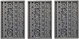 Prima Marketing 655350815325 Iod Vintage Art Decor Moulds- Moulding 1 Iod Vintage Art Decor Moulds -Moulding 1'' (3 Pack)