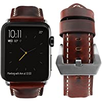 Apple Watch Band, top4cus Genuine Leather iwatch Strap...