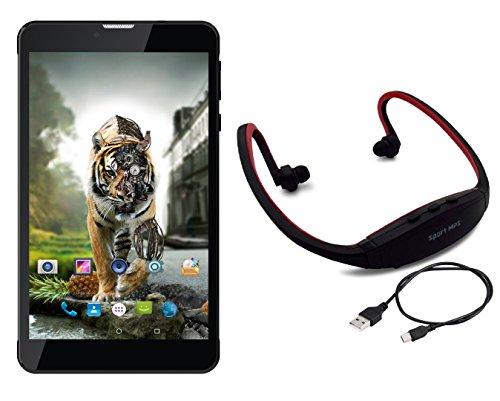 IKALL N4(1+8GB) Dual Sim 4G Calling Tablet With Neckband -B