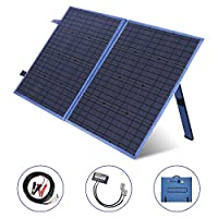 MEGSUN 100W Folding Solar Panel 12V Mono...
