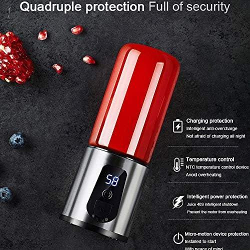 Exprimidor Eléctrico Portátil, Recargable USB / 18000 RPM Mini Exprimidor, Alimentaria Y De Bebidas Licuadora