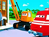Troy The Train : The Car Carrier / The Demolition Crane