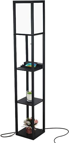3-in-1 Shelf Floor Lamp