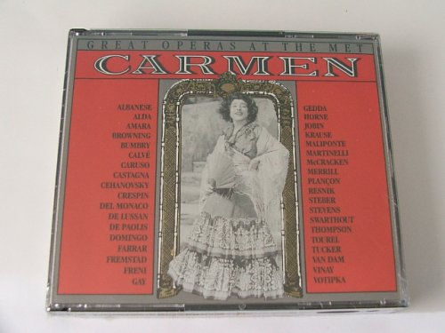 Metropolitan Opera 39 Historic Performances from Carmen (2 CDs)