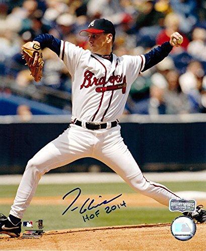 Tom Glavine Autographed/Signed Atlanta Braves 8x10 MLB Photo with