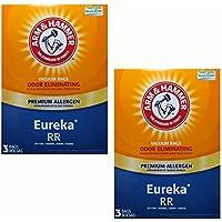 Premium Allergen Vacuum Bags, Eureka RR, 2 Packs 6 Bags Total