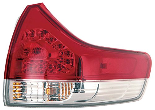 (Depo 312-19A6R-AF Toyota Sienna Passenger Side Outer Tail Lamp Assembly with Bulb and Socket (NSF Certified))