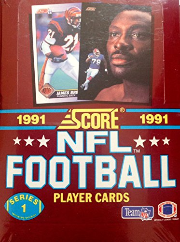1991 Score NFL Football Series 1 Player Cards Unopened Box