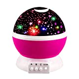 Tisy Magical Birthday Gifts Present for 2-10 Year Old Girls, Wonderful Quiet Romantic Starlight for Kids Toys for 2-10 Year Old Boys Gifts for 2-10 Year Old Boys Pink TSUKXK03