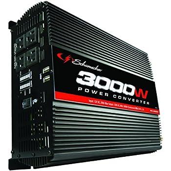 Schumacher PC-3000 3000W Power Inverter