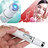 Facial Bones Pain - Funwill Remove Acne Marks Fast Beauty Machine LED Blue Light Therapy Pen Soft Scar Wrinkle Removal Treatment Handy Photon Device Treatment Face Skin Care Makeup Scrub Tool Tightening Pores Shrinking