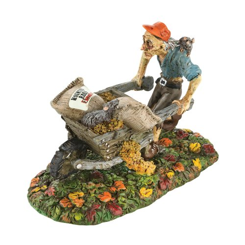 Department 56 Snow Village Halloween Rats There Goes My Grain Accessory Figurine, 2.36 inch]()