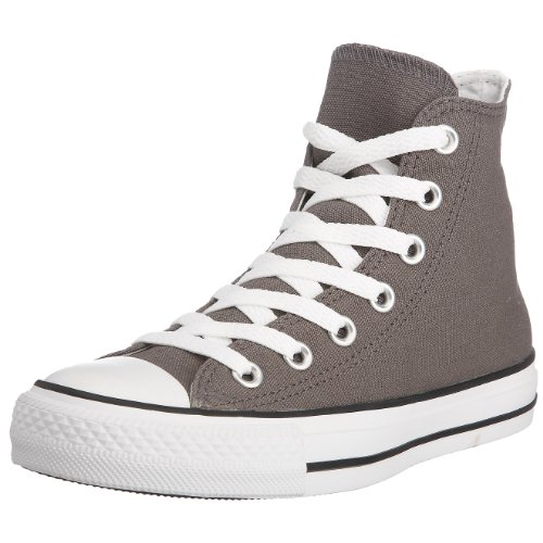 Converse Star Hi Canvas, Sneaker Unisex – Adulto Grigio Scuro (Charcoal)