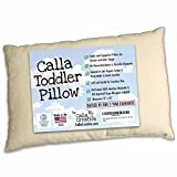 Calla Toddler Pillow Soft Organic Cotton of size 13'' x 18'' x 3.5''