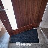 Sierra Concepts 2-Pack Striped Door Floor Mat