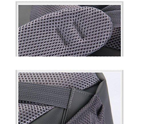 Grey Backpack Business Laidaye Leisure purpose Multi Travel q7xA4
