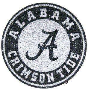 (NCAA Alabama Bling Emblem, One Size, One Color)