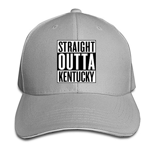 Travel Straight Outta Kentucky Sandwich Cap For Man -