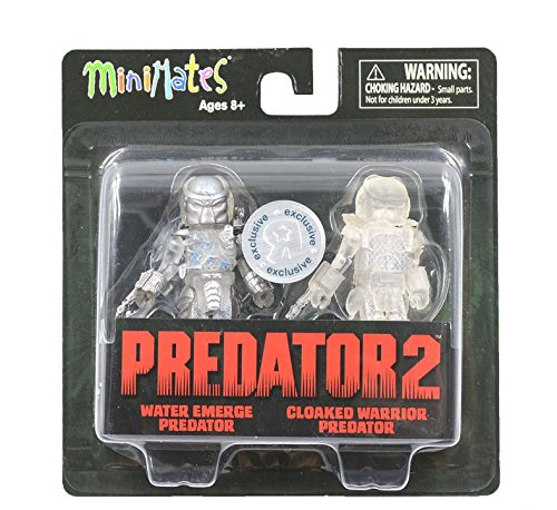 - Predator 2 Minimates -- Water Emerge Predator and Cloaked Warrior Predator -- Toys