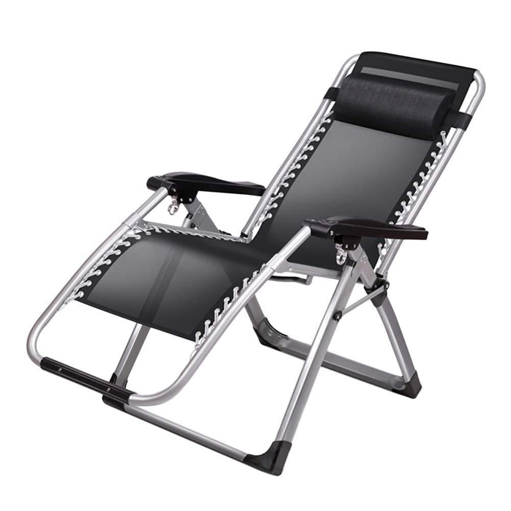 ヘビーデューティの人々のためにリクライニング特大パティオチェア、屋外ガーデンビーチの芝生のキャンプのための携帯用椅子、サポート200Kg
