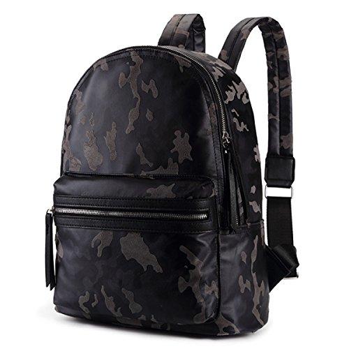 BULAGE Bag Tarnung Schultern Männer Reise Draußen Wandert Rucksäcke Taschen Jugend Junger Kurzes Computer Wandern B