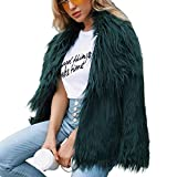 SMALLE ◕‿◕ Clearance,Jacket for Women, Ladies Warm Faux Fur Coat Jacket Winter Solid Parka Large Lapel Outerwear