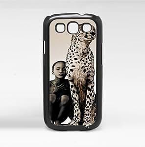 Cheetah and Boy Hard Snap on Case (Galaxy S3 III)