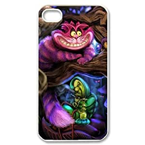 YUAHS(TM) Phone Case for Iphone 4,4S with Cheshire Cat YAS406518