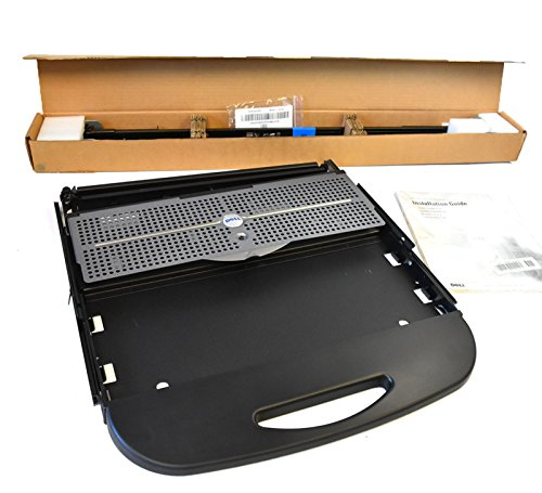 Kit X3894 Genuine OEM Dell EMC PowerEdge 1U Servers Cabinet Accessory KBD Tray w/Rails Set X3892 Rail J7761 R-Rail V2 J2686 Keyboard Rack Tray Keyboard Tray and Rail Bundle PONY 1-U Platform