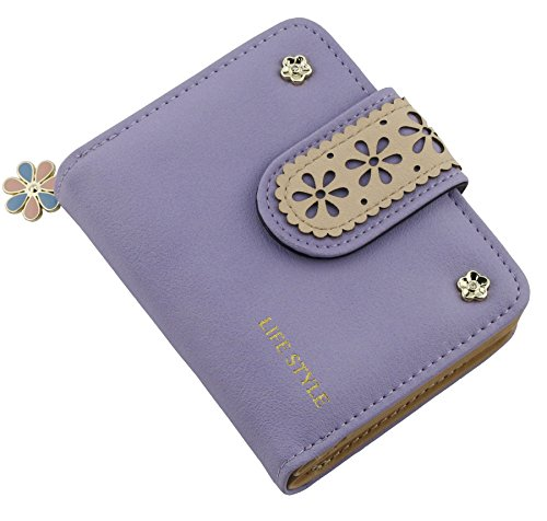ETIAL Womens Leather Floral Bifold product image