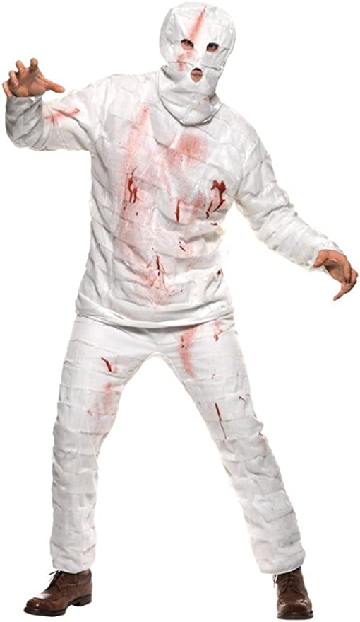 Smiffys - Disfraz de momia, talla L (36212L): Amazon.es: Juguetes ...