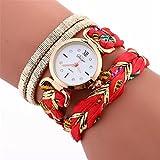 Women Watchs ,Vanvler Stylish Simplicity Leather Bracelet Lady Wrist Watch