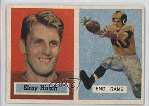 1957 Football (Elroy Hirsch (Football Card) 1957 Topps - [Base] #46)