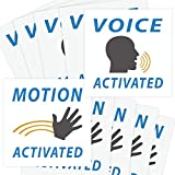 Voice & Motion Activated Prank Stickers, 50 Pack....