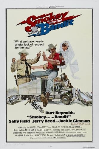 Image result for smokey and the bandit poster