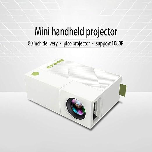 HKYMBM Mini Pico Proyector, Proyector Portátil Portátil De ...