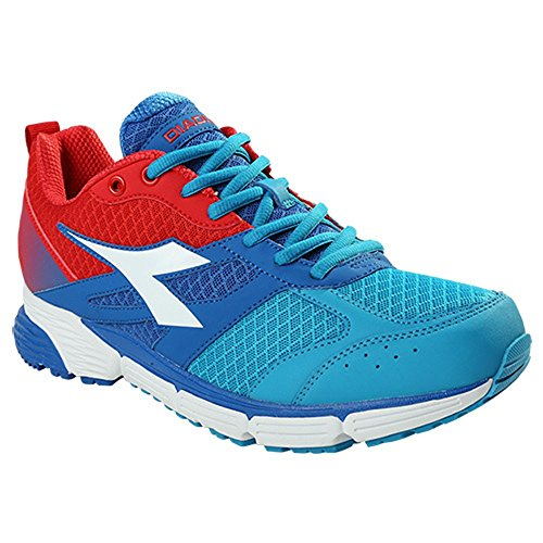 ACTION SHOES DIADORA II BLUE RED RUNNING 0wHOHqaZ