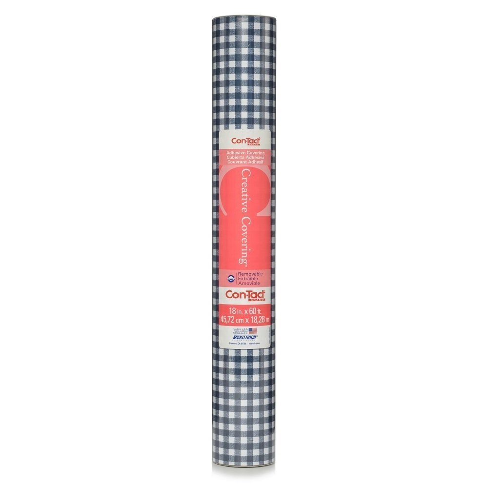 Con-Tact Brand Creative Covering Self-Adhesive Shelf and Drawer Liner, 18-Inches by 9-Feet, Arbor Marina 09F-C9Y43-12