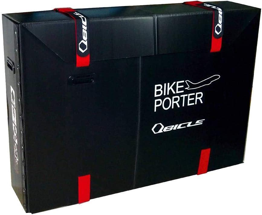 QBICLE(キュービクル) バイクポーター STD スタンダートサイズ [ブラック]