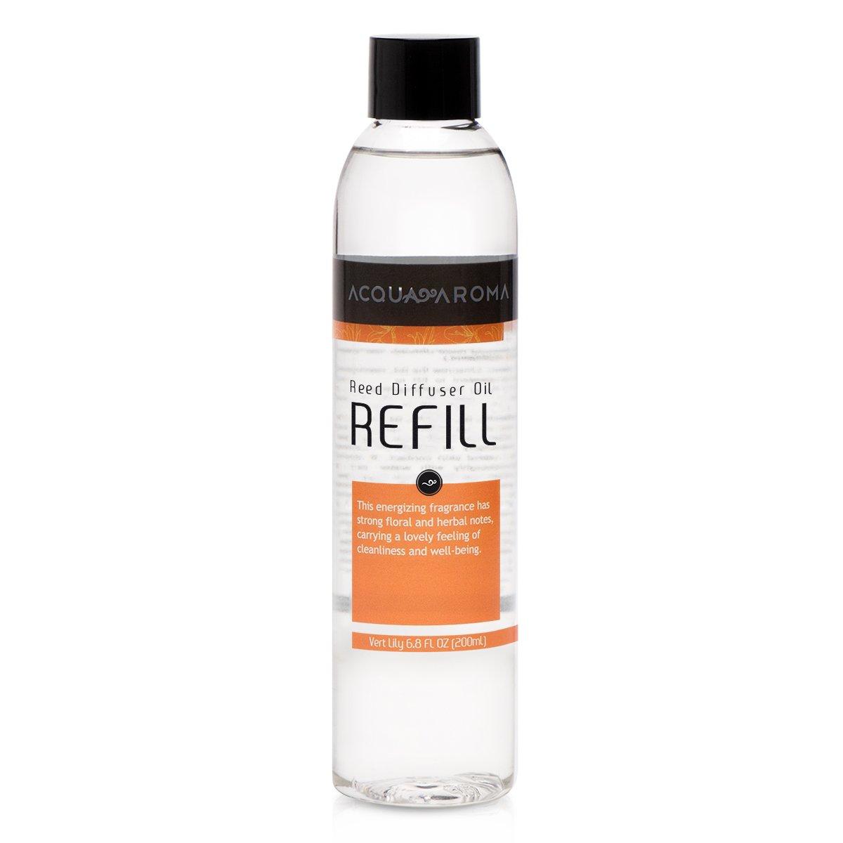 AcquaアロマVert Lily Reed Diffuser Oil Refill 6.8 FL OZ ( 200ml )にはEssencial Oils B01M2XE5CI