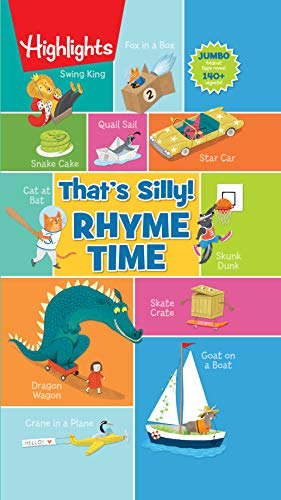 That's Silly!(TM) Rhyme Time (Highlights That's Silly!(TM) Foldout-Fun