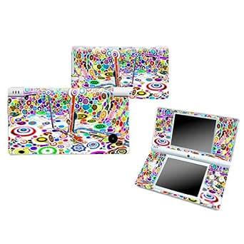 ABSTRACT TARGET Nintendo DSI NDSI Vinyl Skin Decal Cover Sticker +Screen Protectors