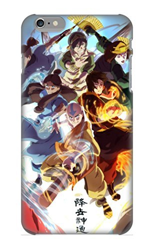ellent-iphone-6-plus-case-tpu-cover-back-skin-protector-anime-crossover-korra-kitara-zuko-toph-sokka
